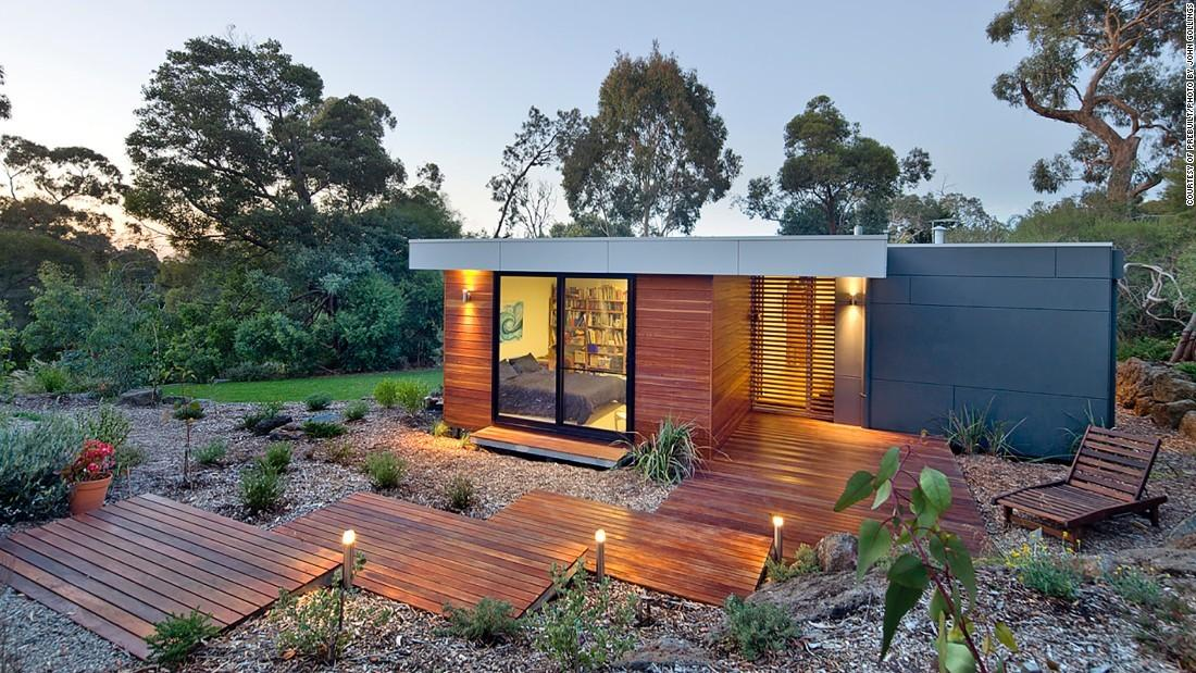 Prefab Home Builds Itself Minutes Cnn