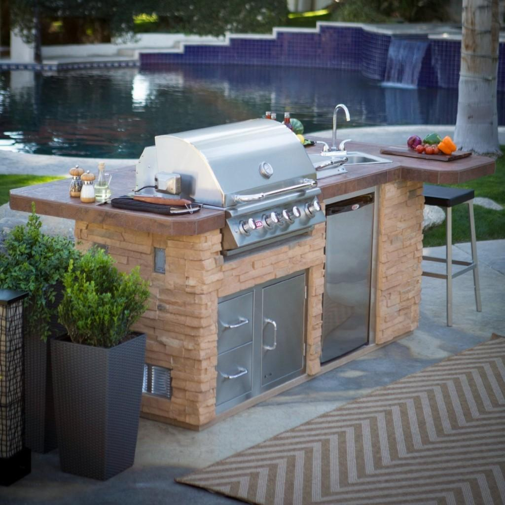 Prefab Outdoor Kitchen Kits Various Designs