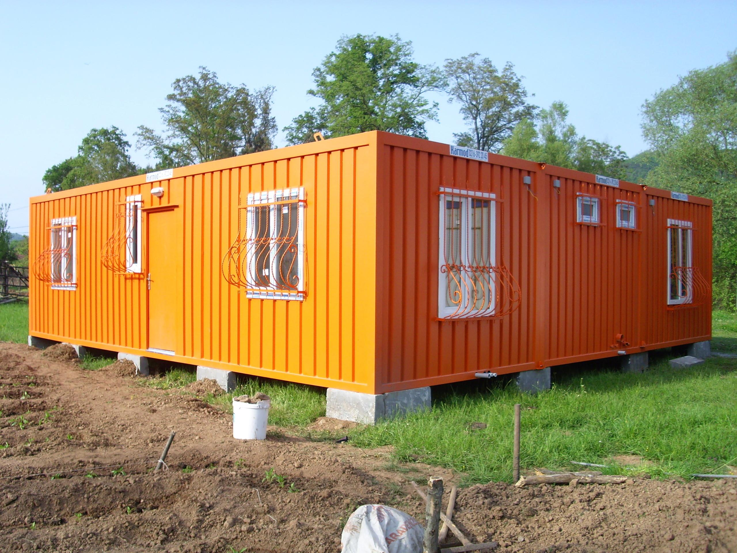 Prefab Storage Container Homes Luxury Colorful