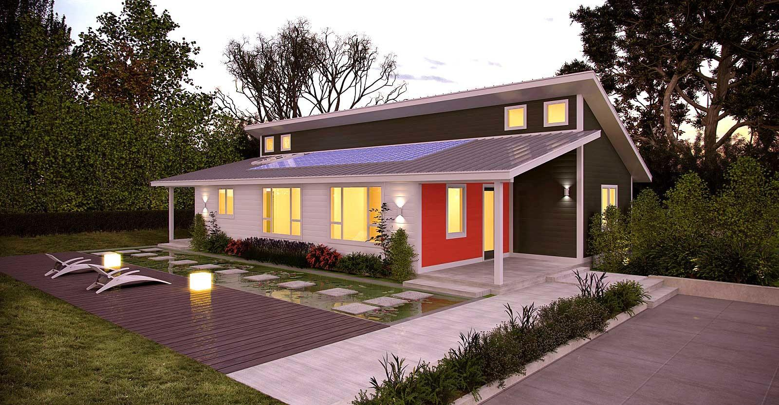Prefab Zero Energy Homes Project