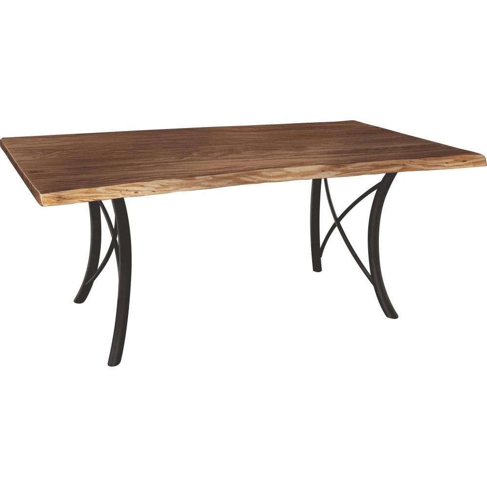 Premier Live Edge Dining Table Amish Crafted Furniture