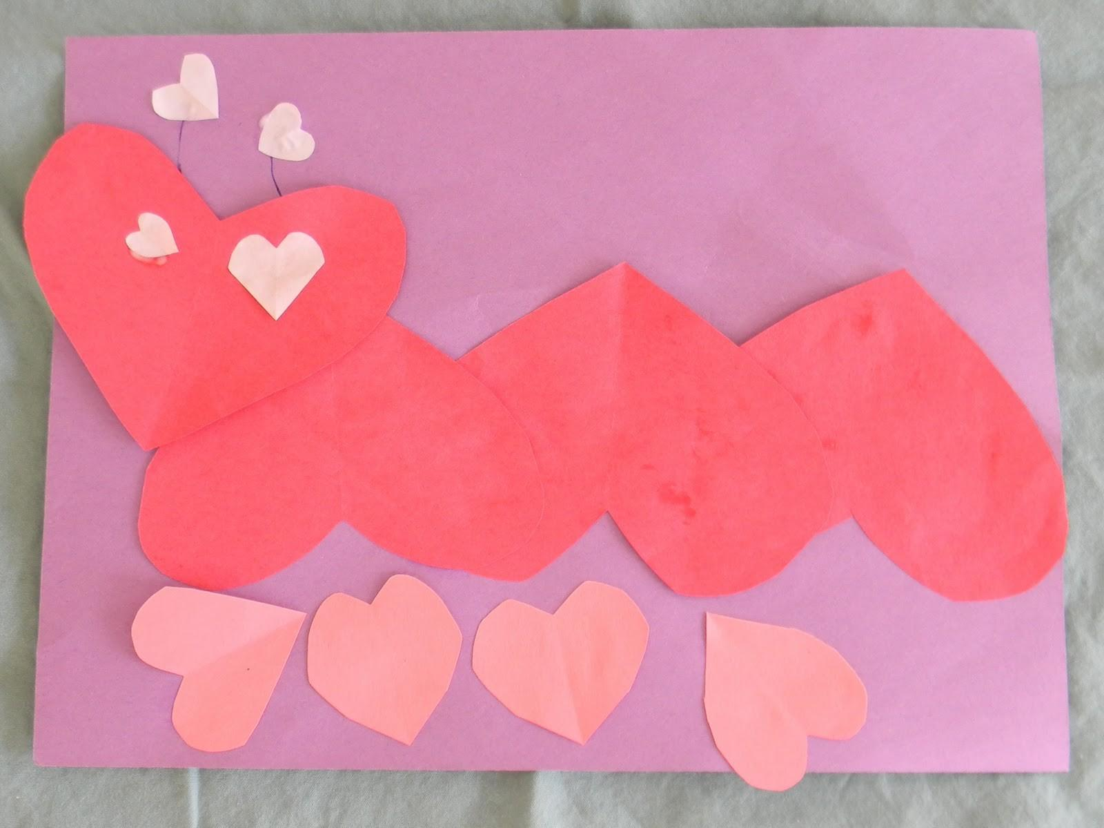 Preschool Crafts Kids Valentine Day Heart