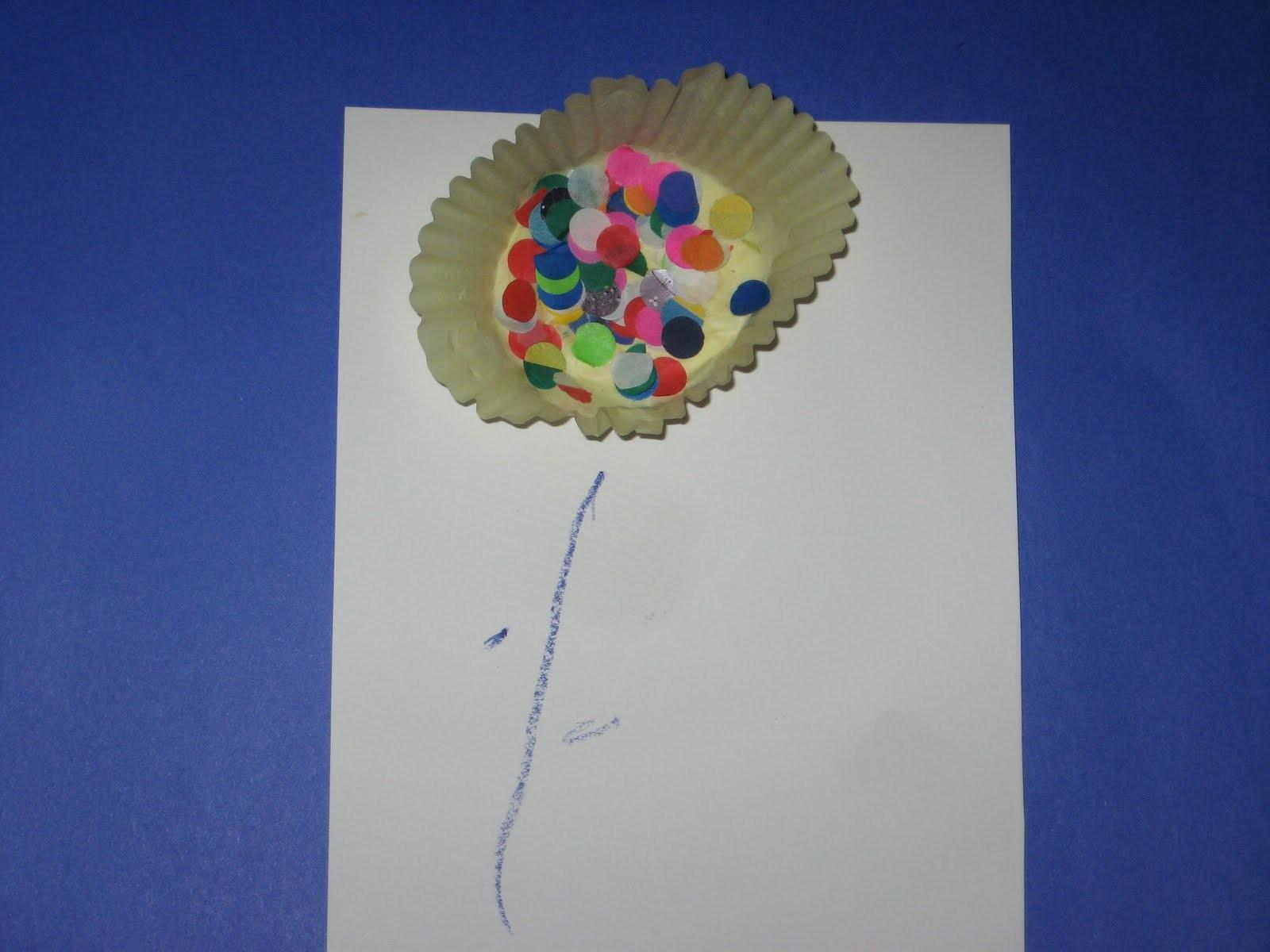 Preschool Learning Ideas Spring Flower Craft Project