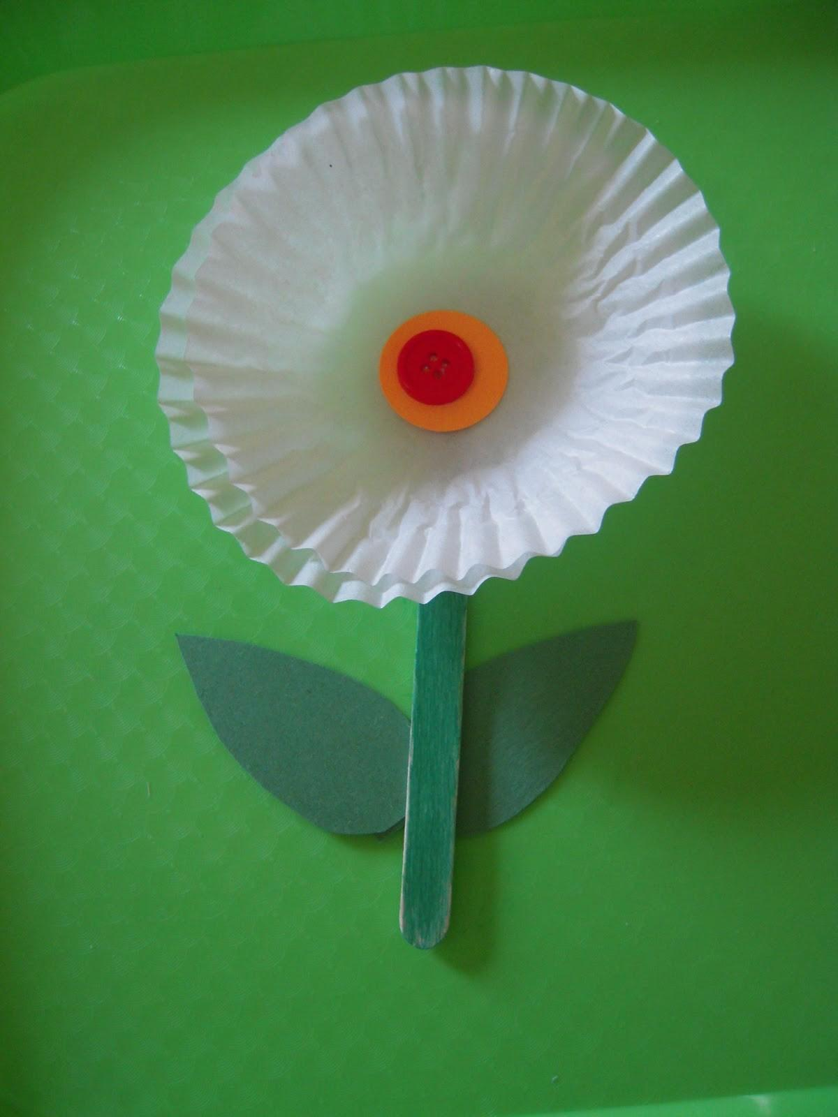 Preschool Spring Flower Crafts