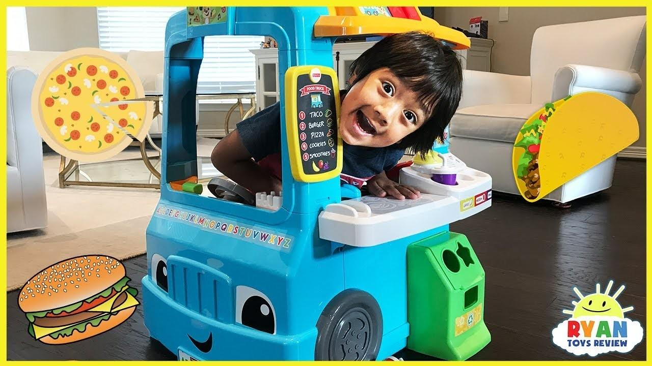 Pretend Play Food Toys Cooking Foods Truck Fisher Price