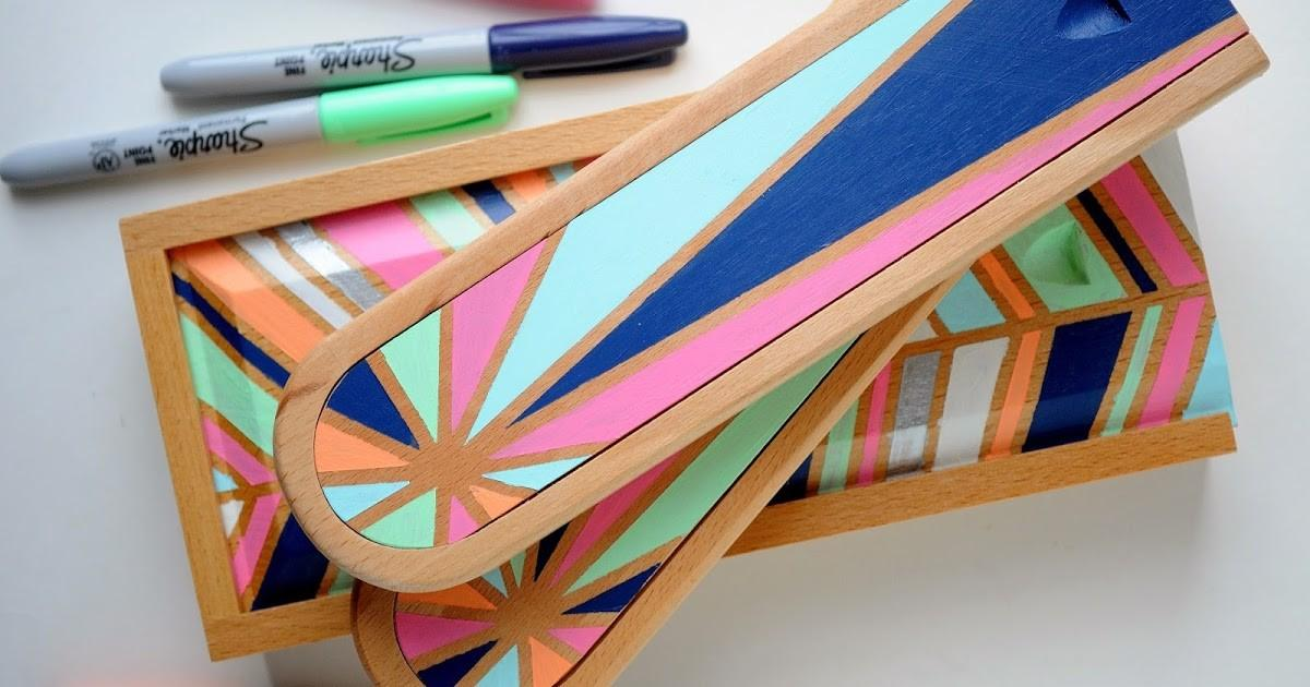 Pretty Cool Life Diy Gift Painted Wooden Boxes