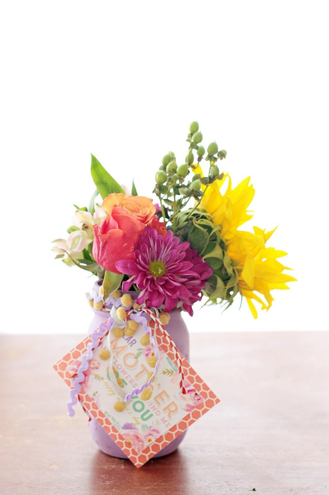 Pretty Life Girls Plg Diy Easy Mother Day Vases