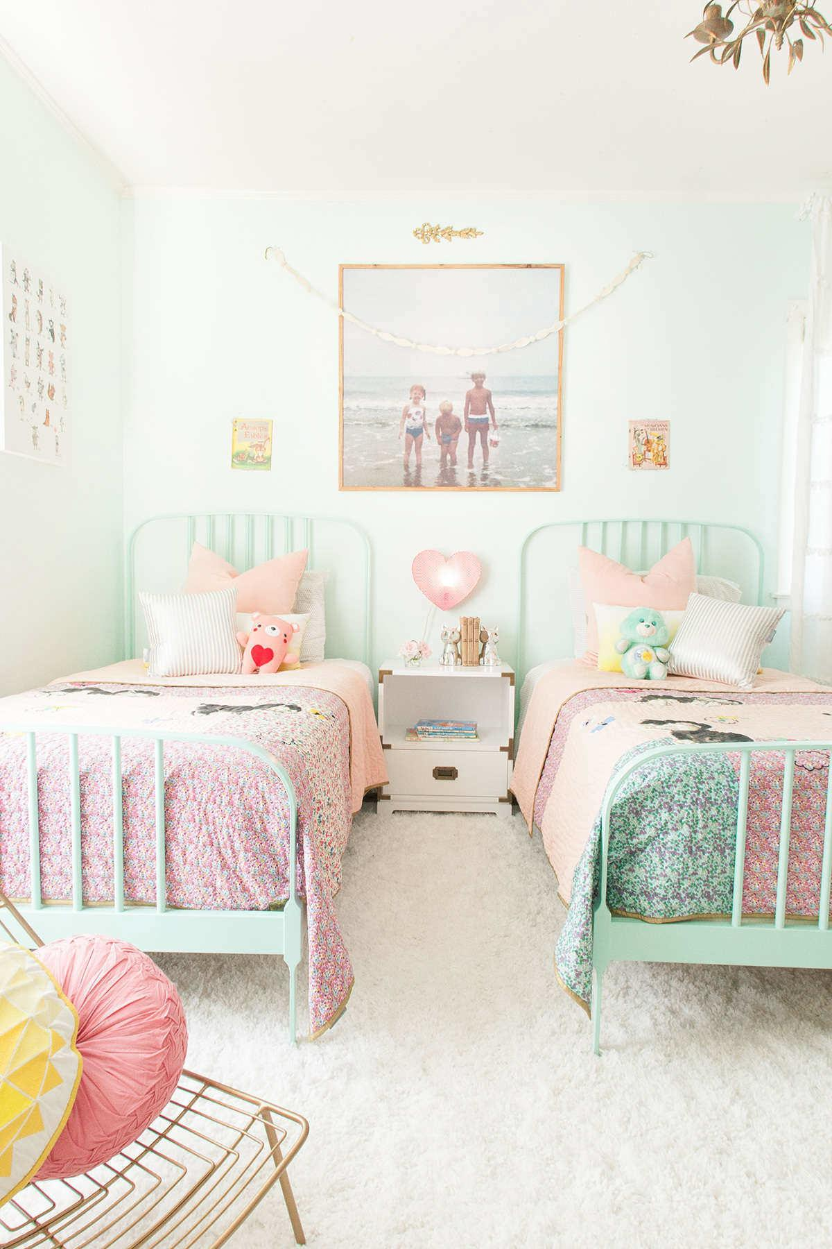 Pretty Pastel Girls Rooms Tinyme Blog