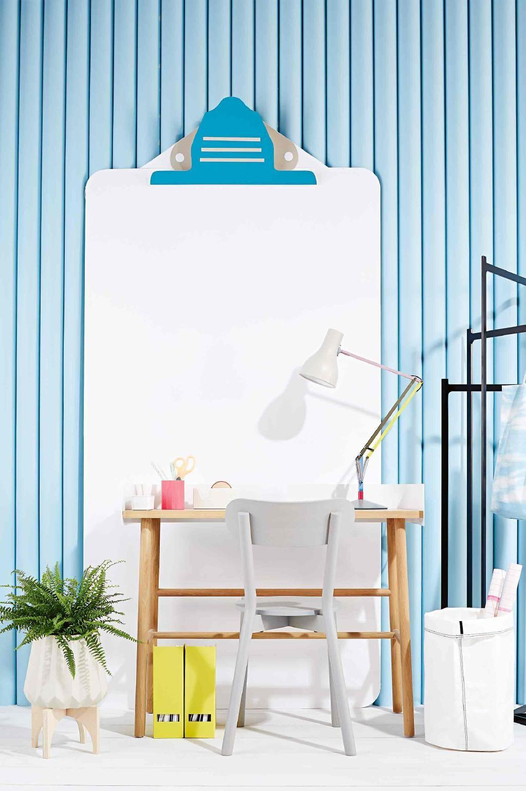 Pretty Pastel Home Office