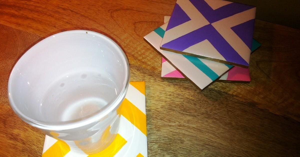 Pretty Penny Diy Painted Coasters