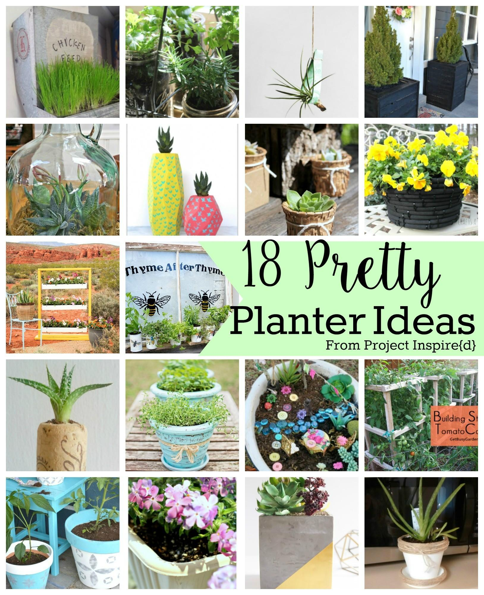 Pretty Planter Ideas Yesterday Tuesday