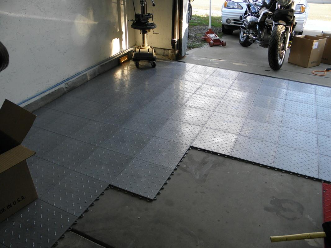 Preview Affordable Garage Floor Tiles Inexpensive