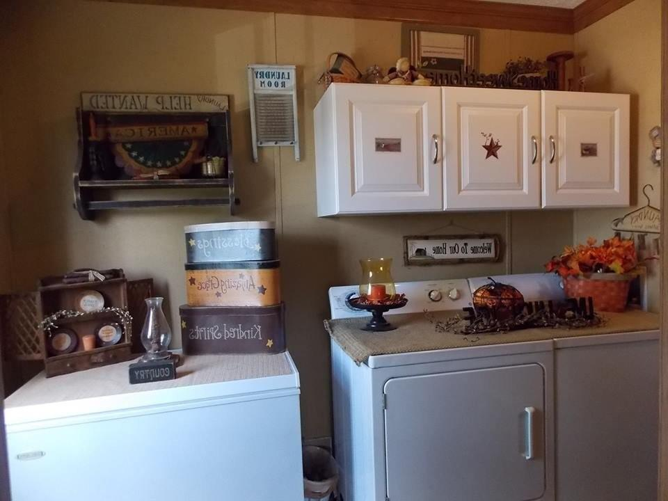 Primitive Laundry Room Decor All Home Ideas