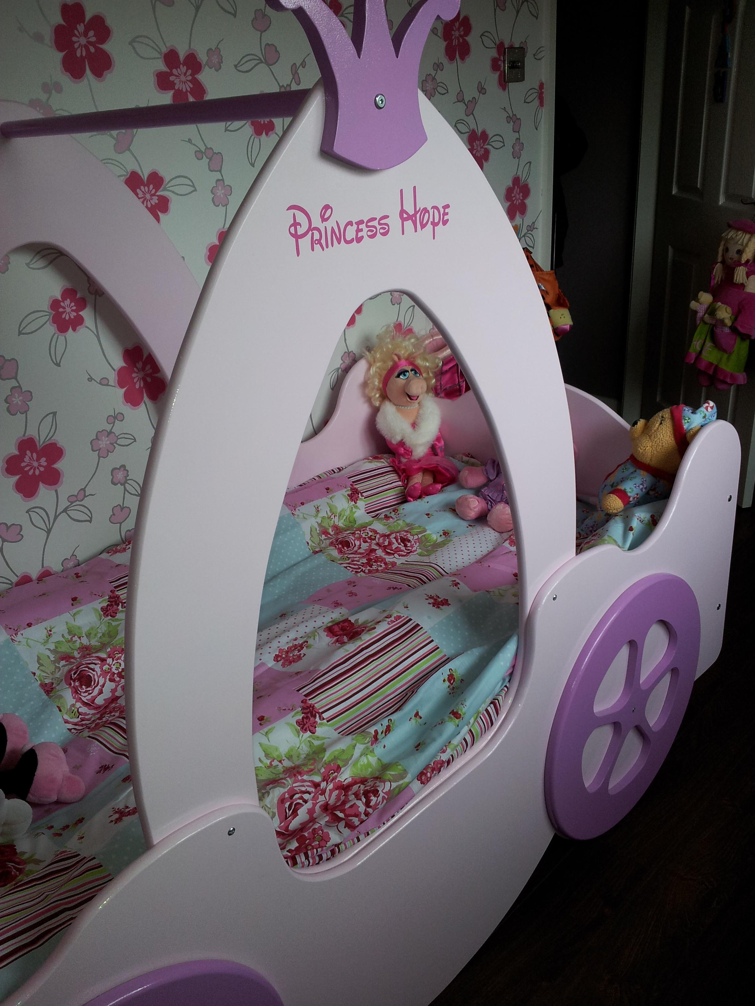Princess Castle Bed Carrage Custom Made
