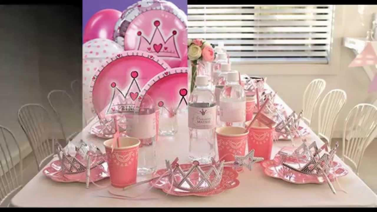 Princess Party Themes Decorations Home Ideas