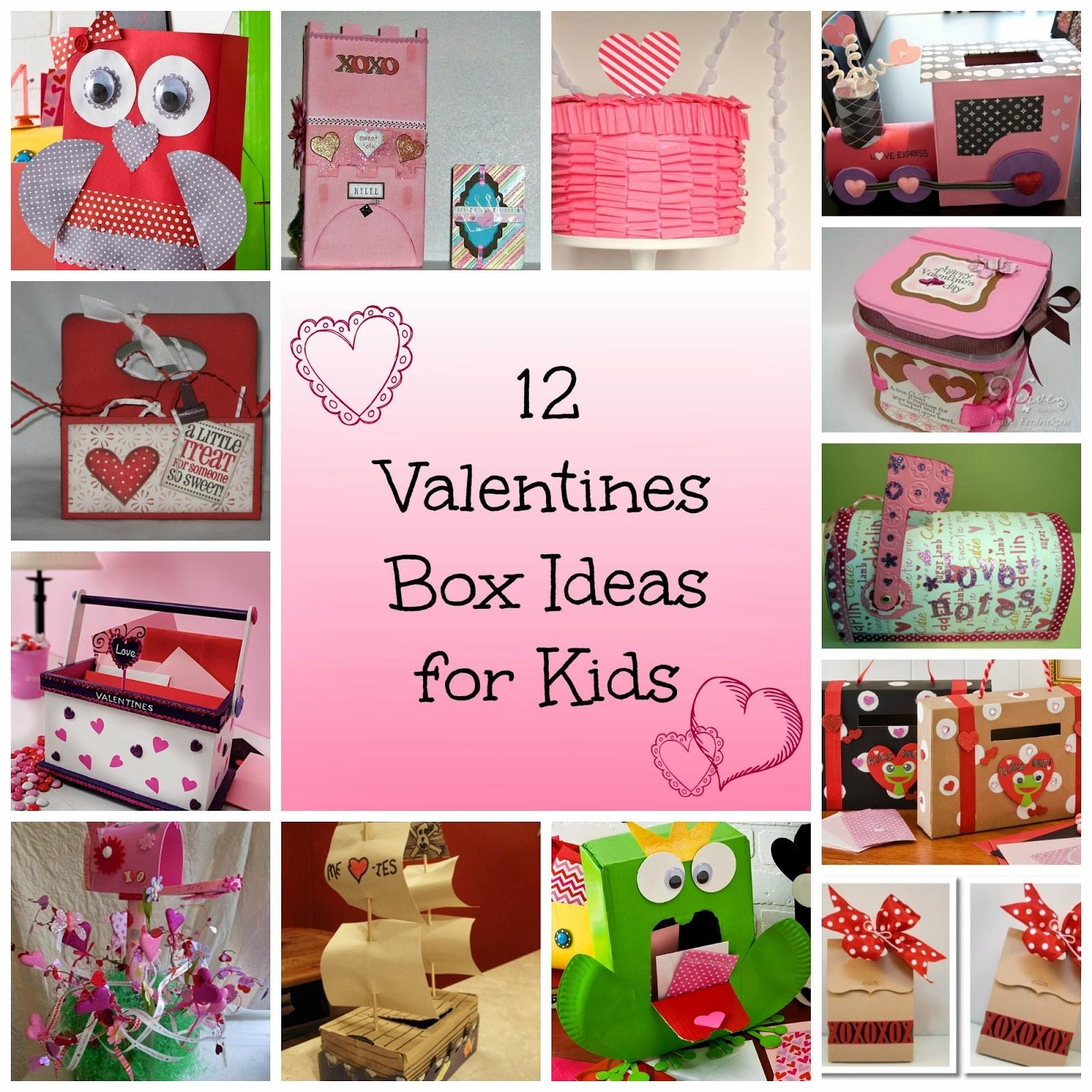 Princess Thing Valentine Box Ideas Kids