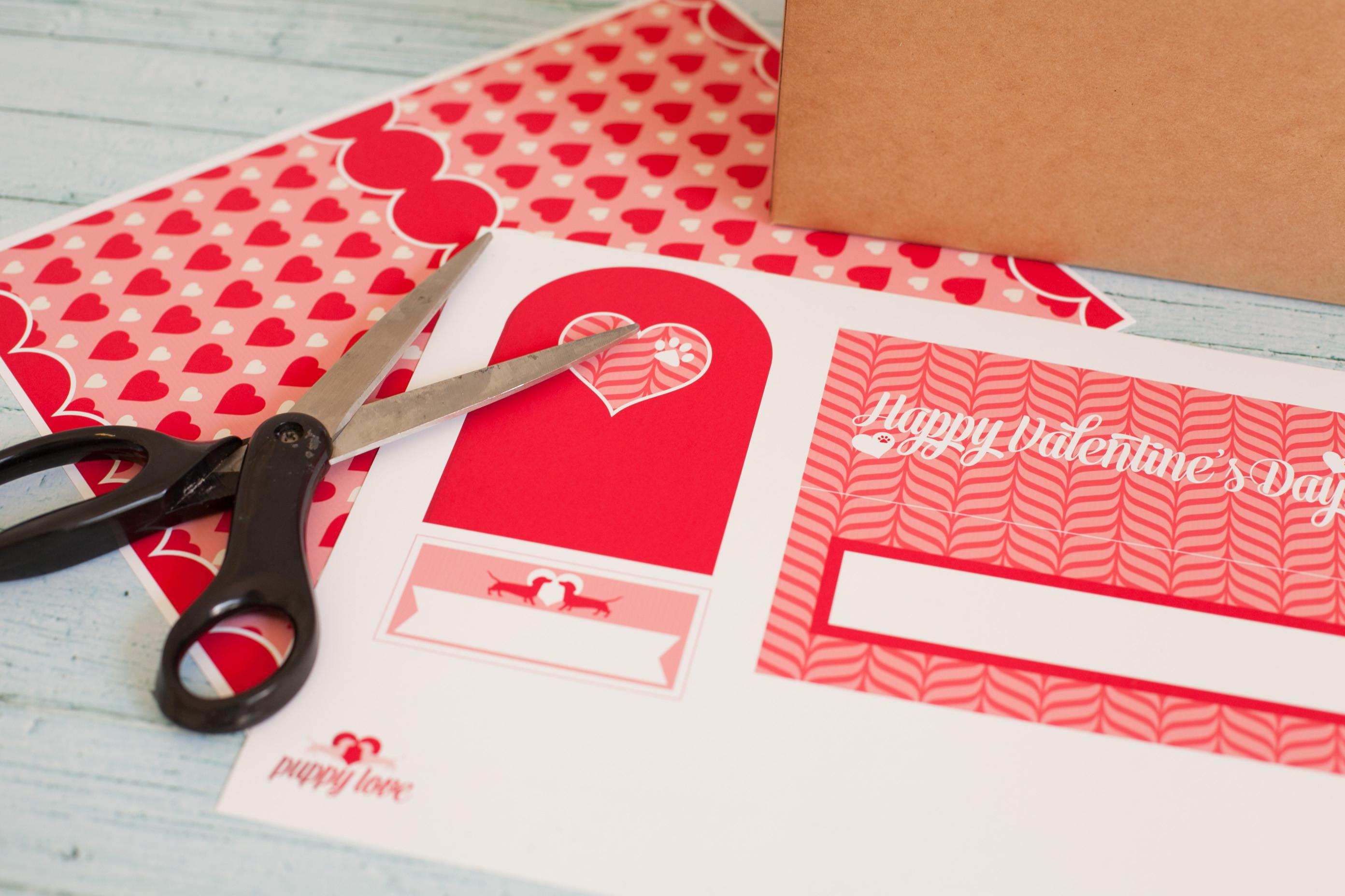 Printable Valentine Mailbox Project Nursery