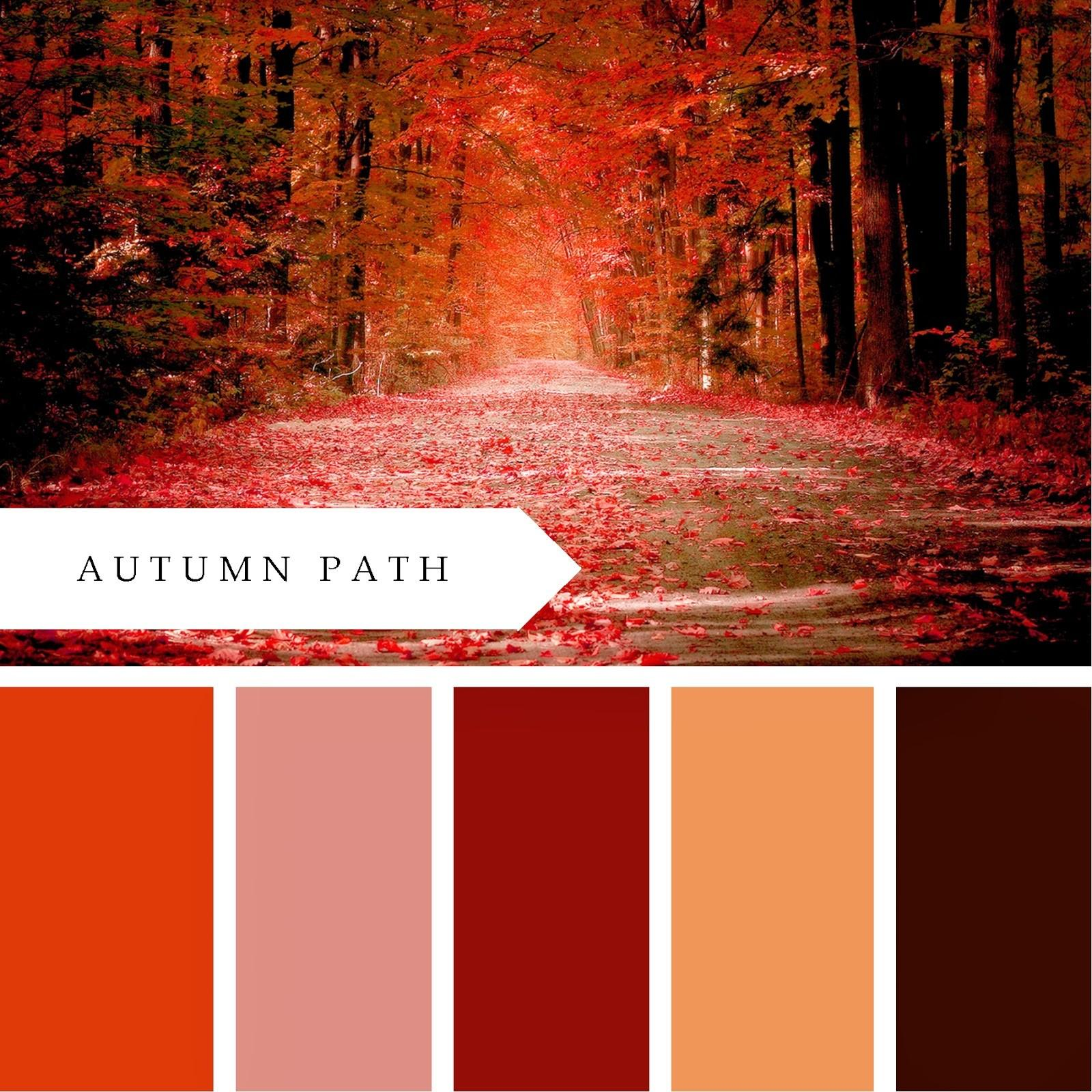 Printablewisdom Autumn Path Color Palette Printable