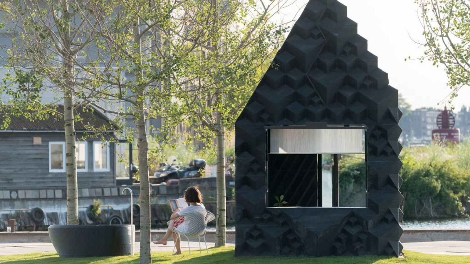 Printed Sustainable Micro Cabin Available Rent