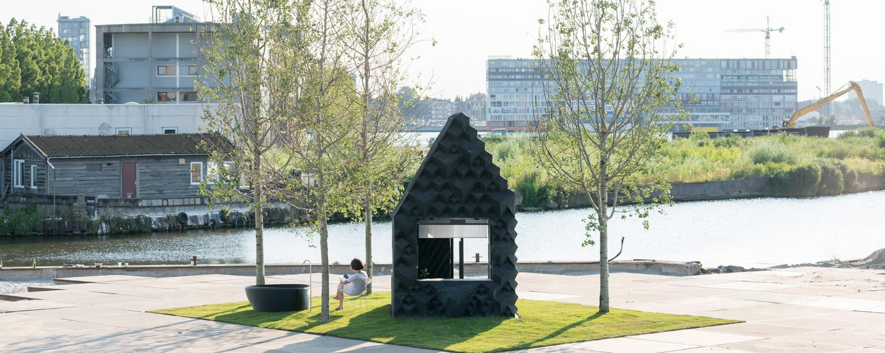 Printed Urban Cabin Dus Architects