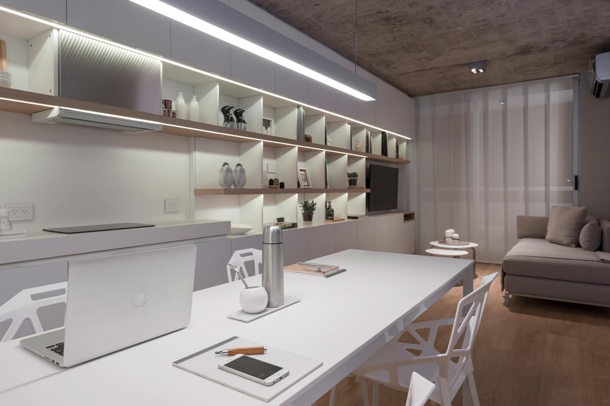Private Residence Buenos Aires Neolith Kitchen
