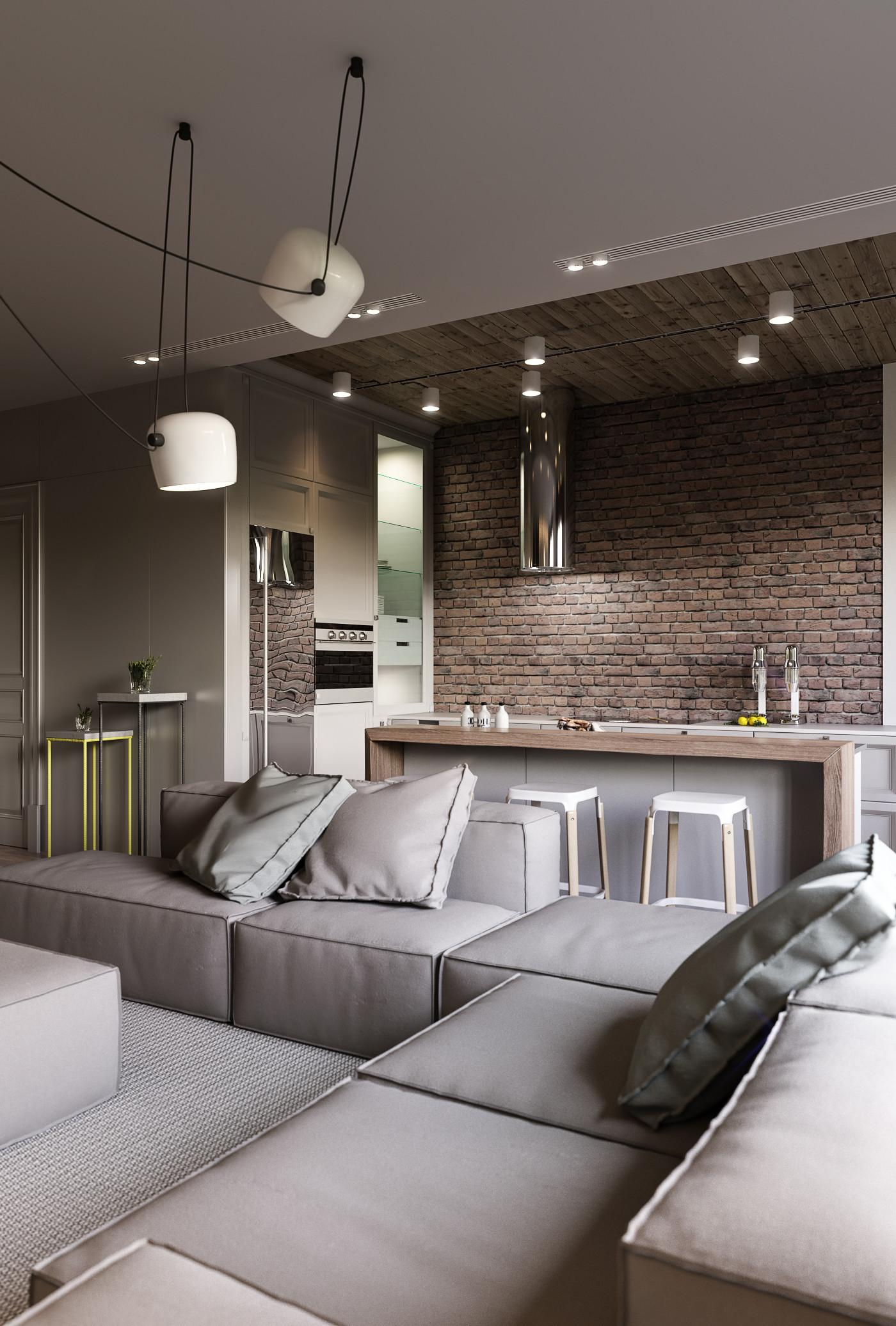 Project Apartment Street Lobanovsky Kiev