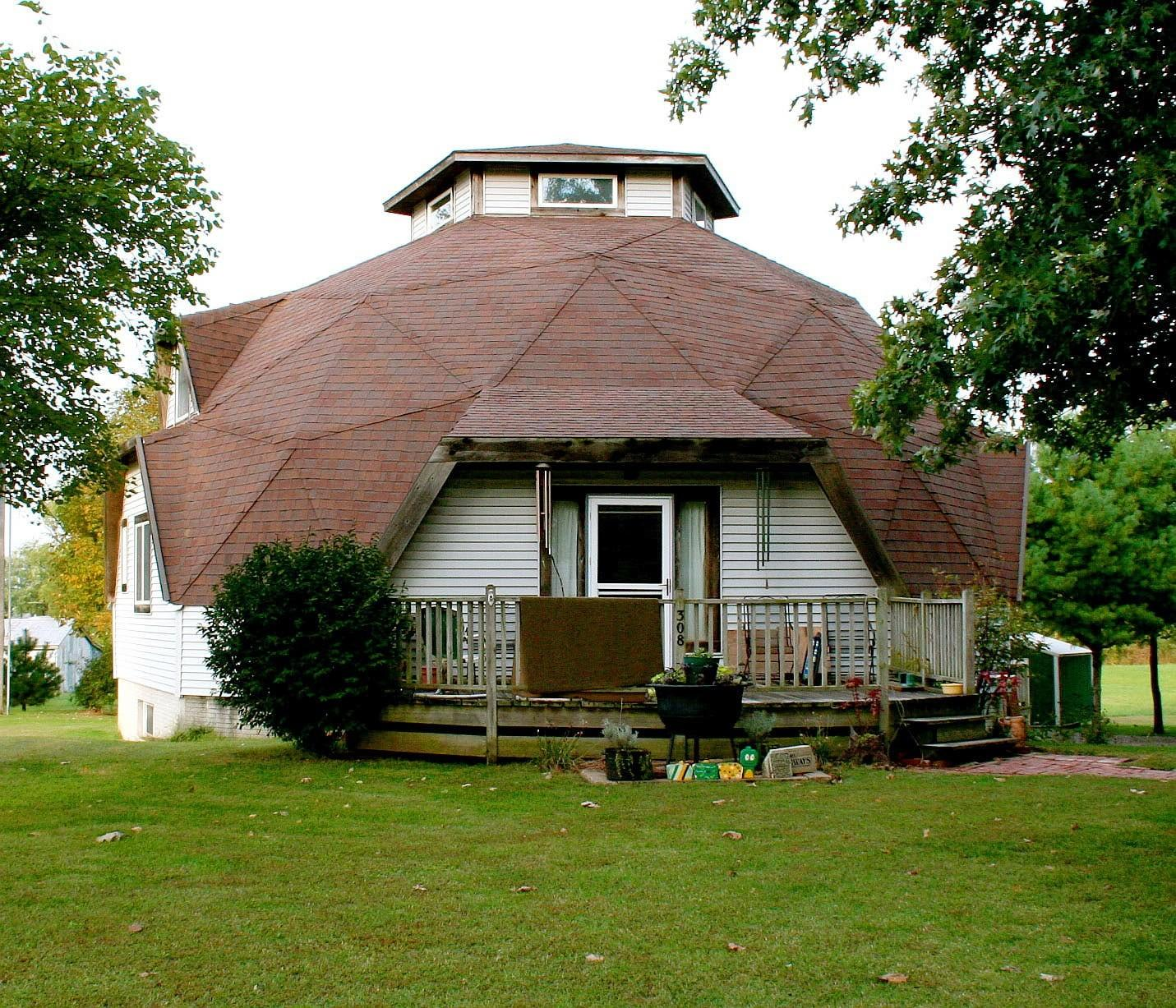 Project Gridless Geodesic Homes