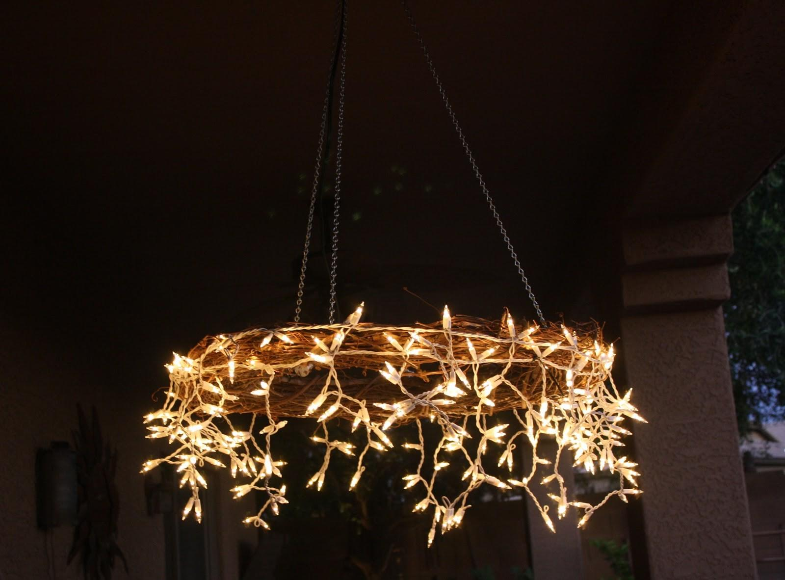 Project Table Diy Icicle Chandelier
