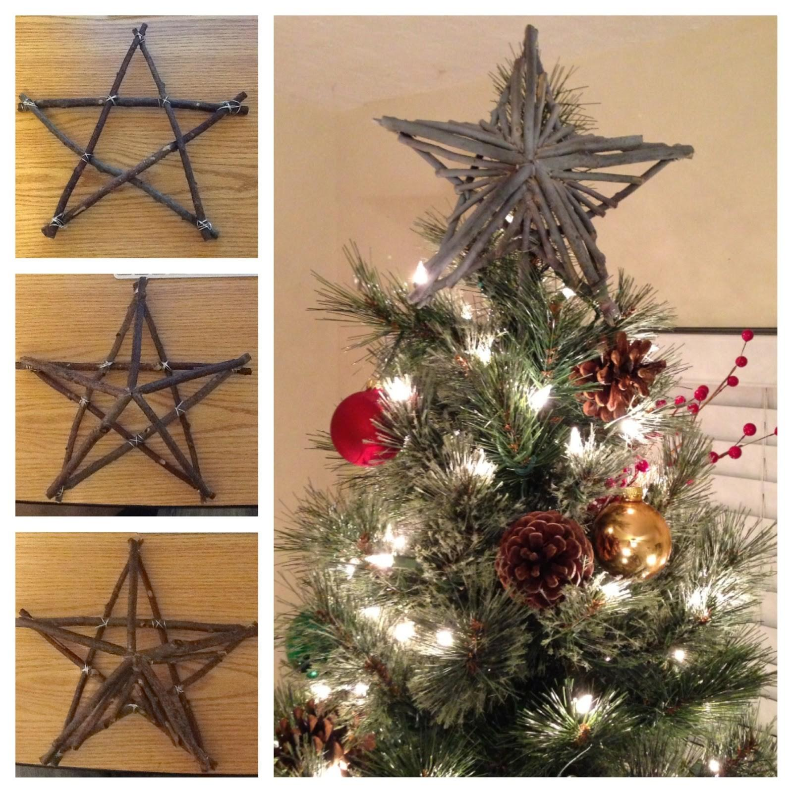 Projects Rustic Star Tree Topper