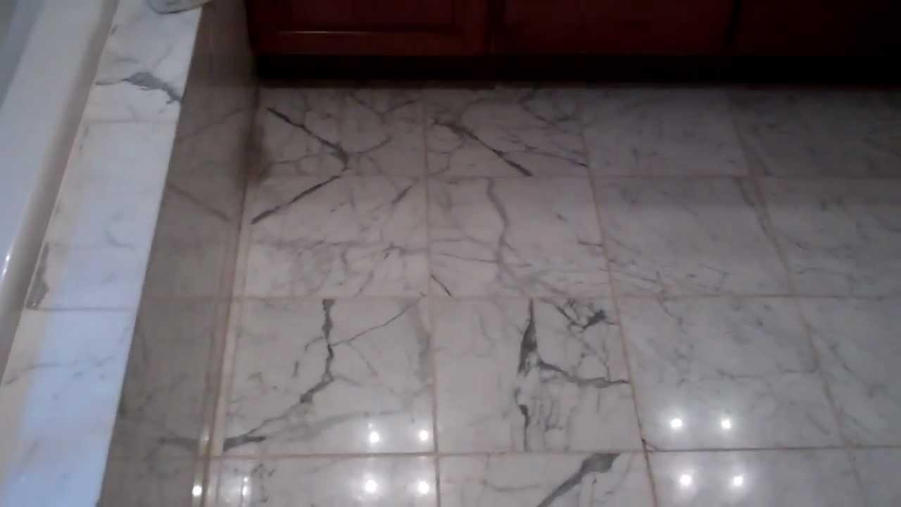 Properly Remove Old Grout Marble Floot
