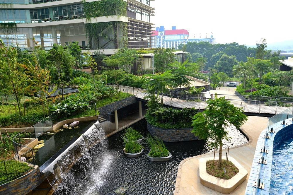 Property Does More Greenery Landscaping Make
