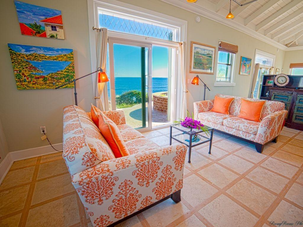 Property Luxury Ocean Front Cottage Private