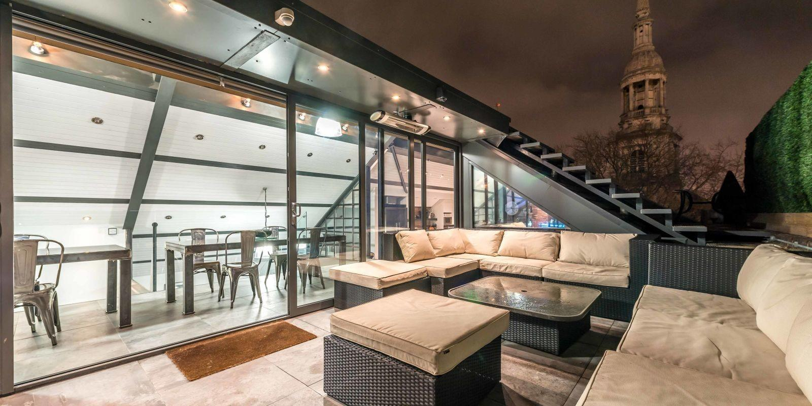 Property Week Striking Shoreditch Penthouse