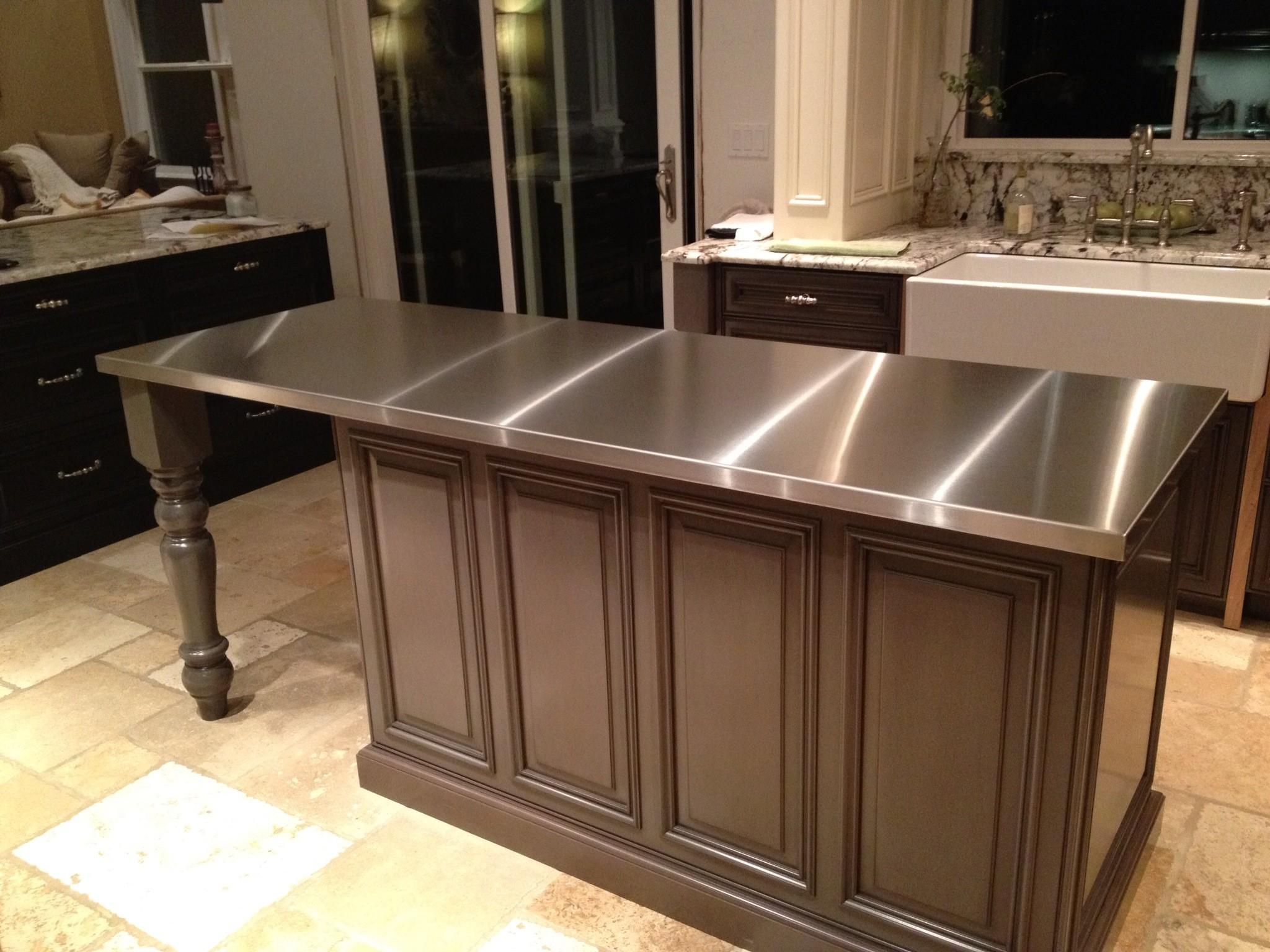 Pros Cons Stainless Steel Countertops Your Kitchen