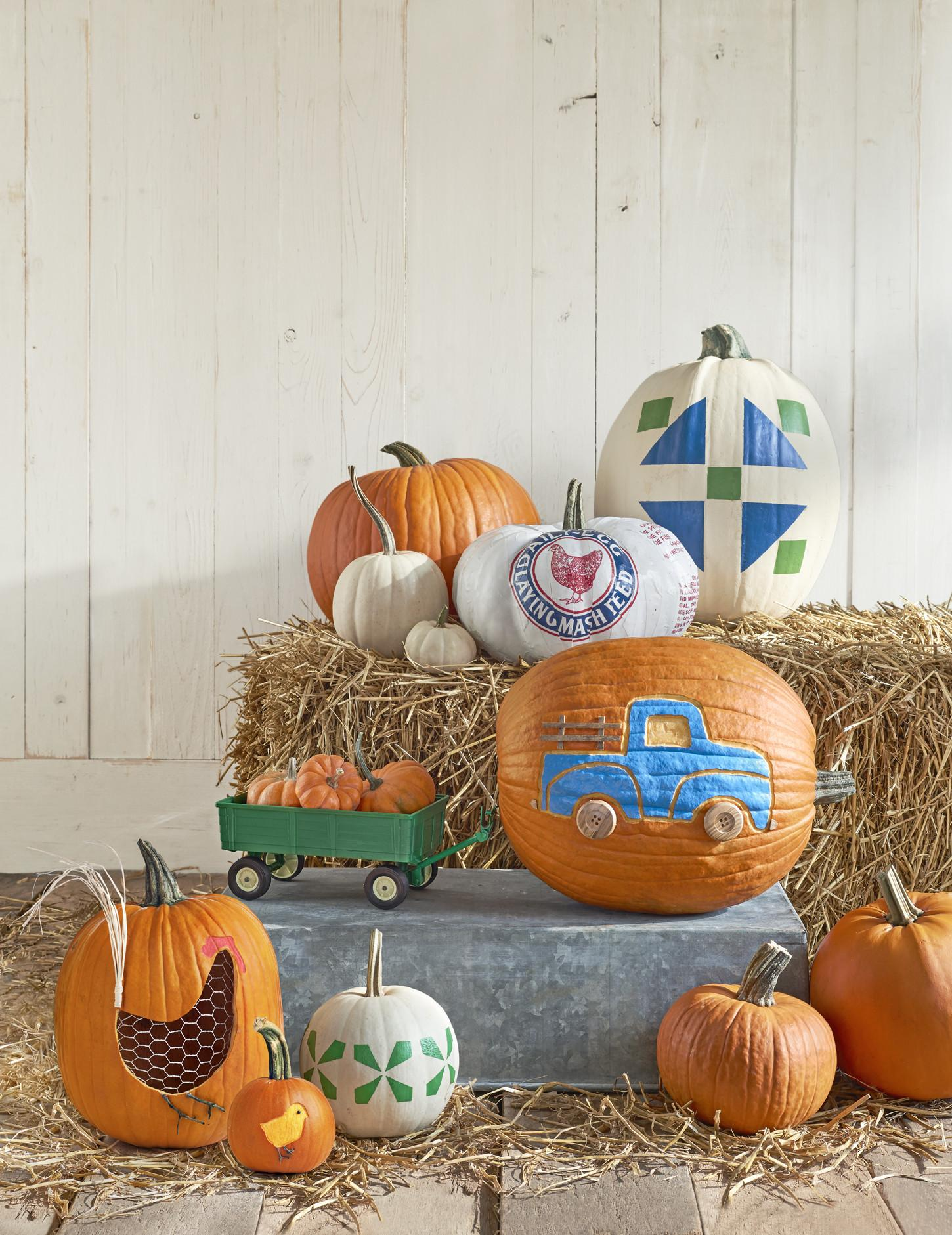 Pumpkin Designs Painting Cool Carve