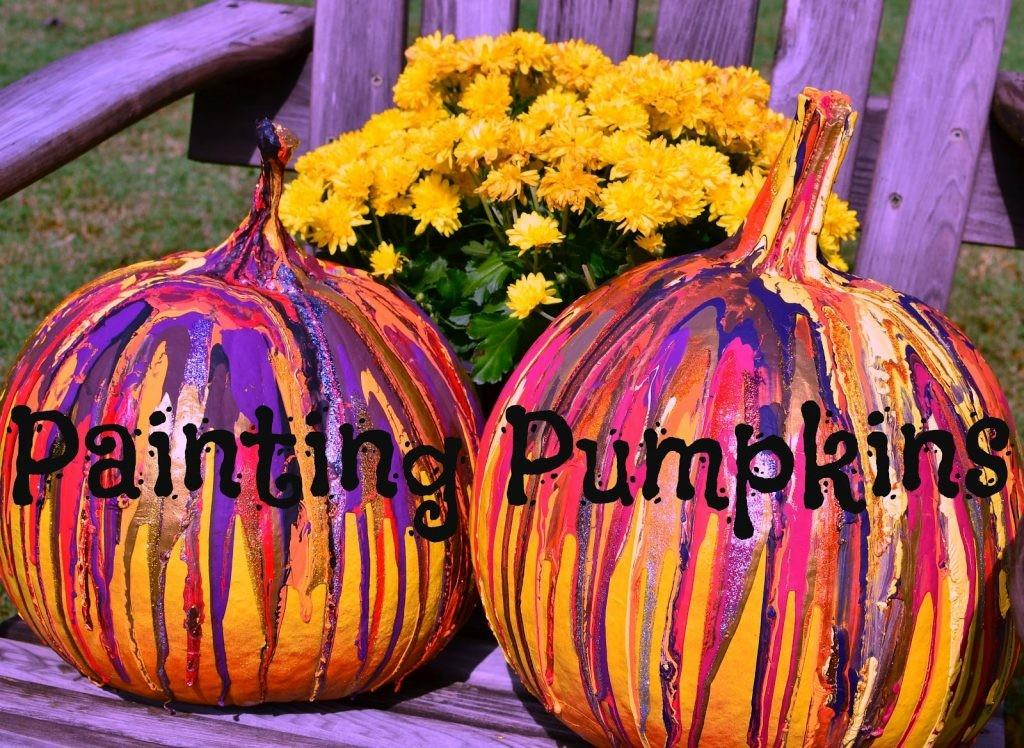 Pumpkin Paint Night Santoras Pizza Pub Grill