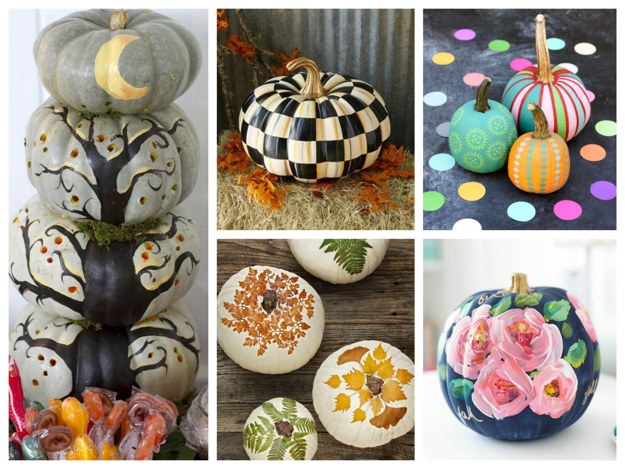 Pumpkin Painting Ideas Best Carve Pumpkins
