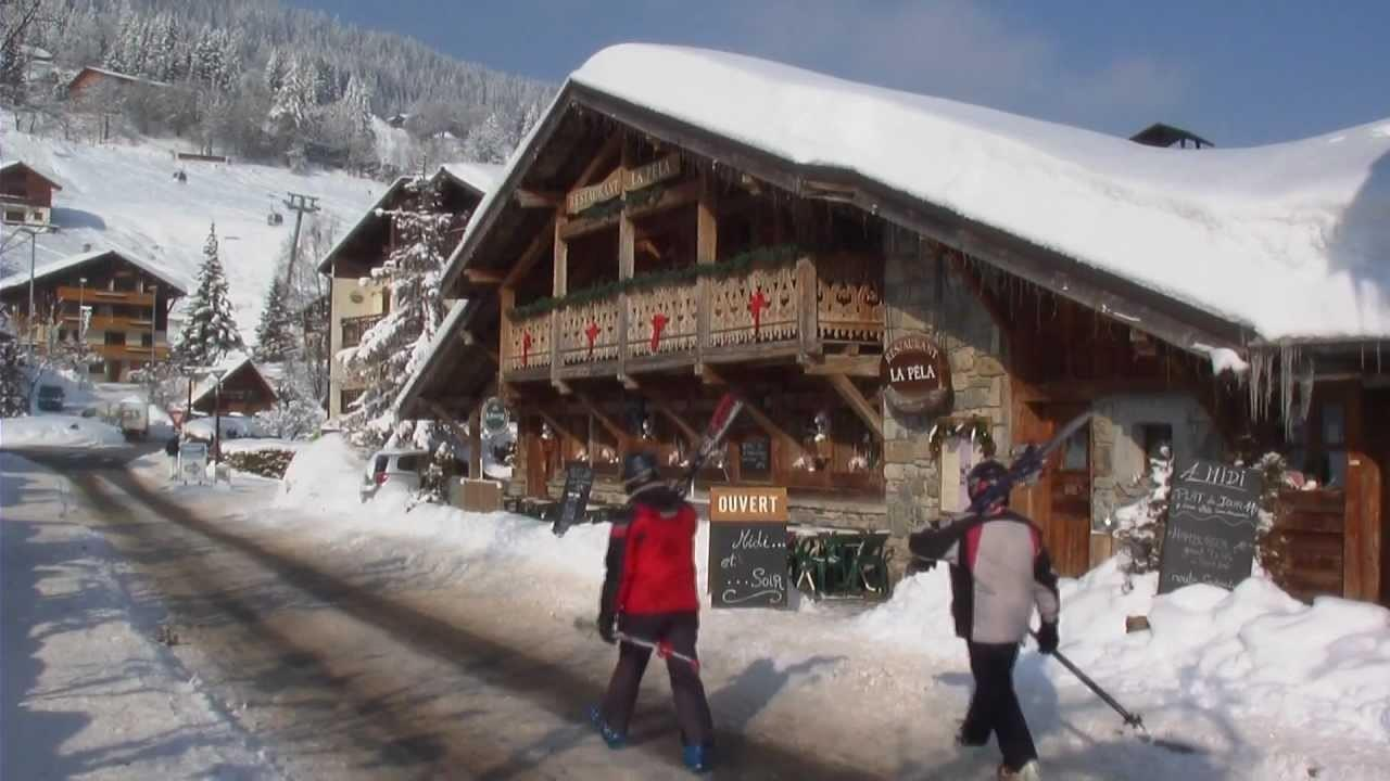 Pure Mountain Chalet Holidays Skiing French Alps Les