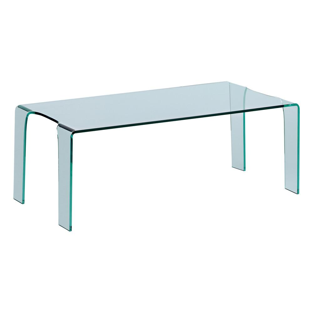 Puro Glass Coffee Table Clear Dwell