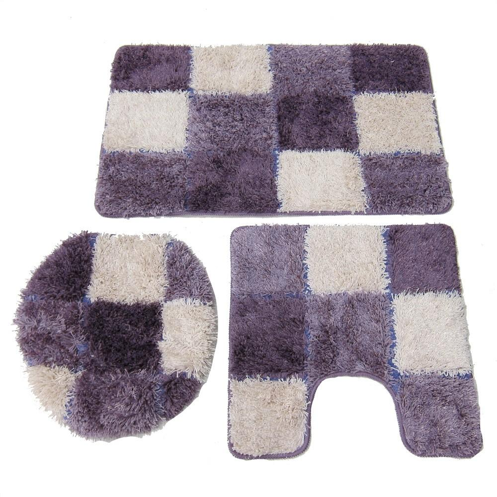 Purple Bath Rug Collection Rugs Bathroom