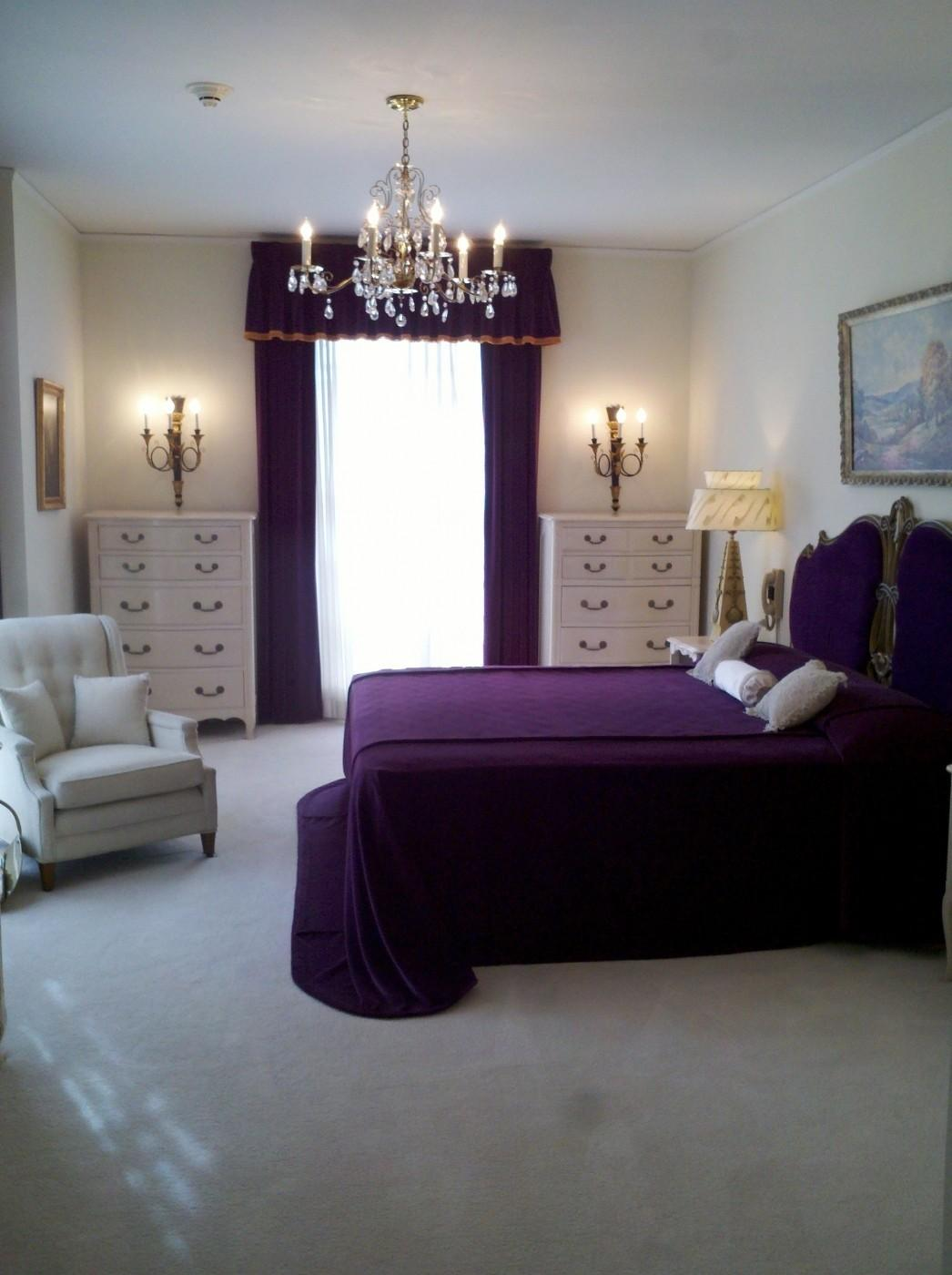 Purple Bedroom White Furniture Cileather Home Design Ideas