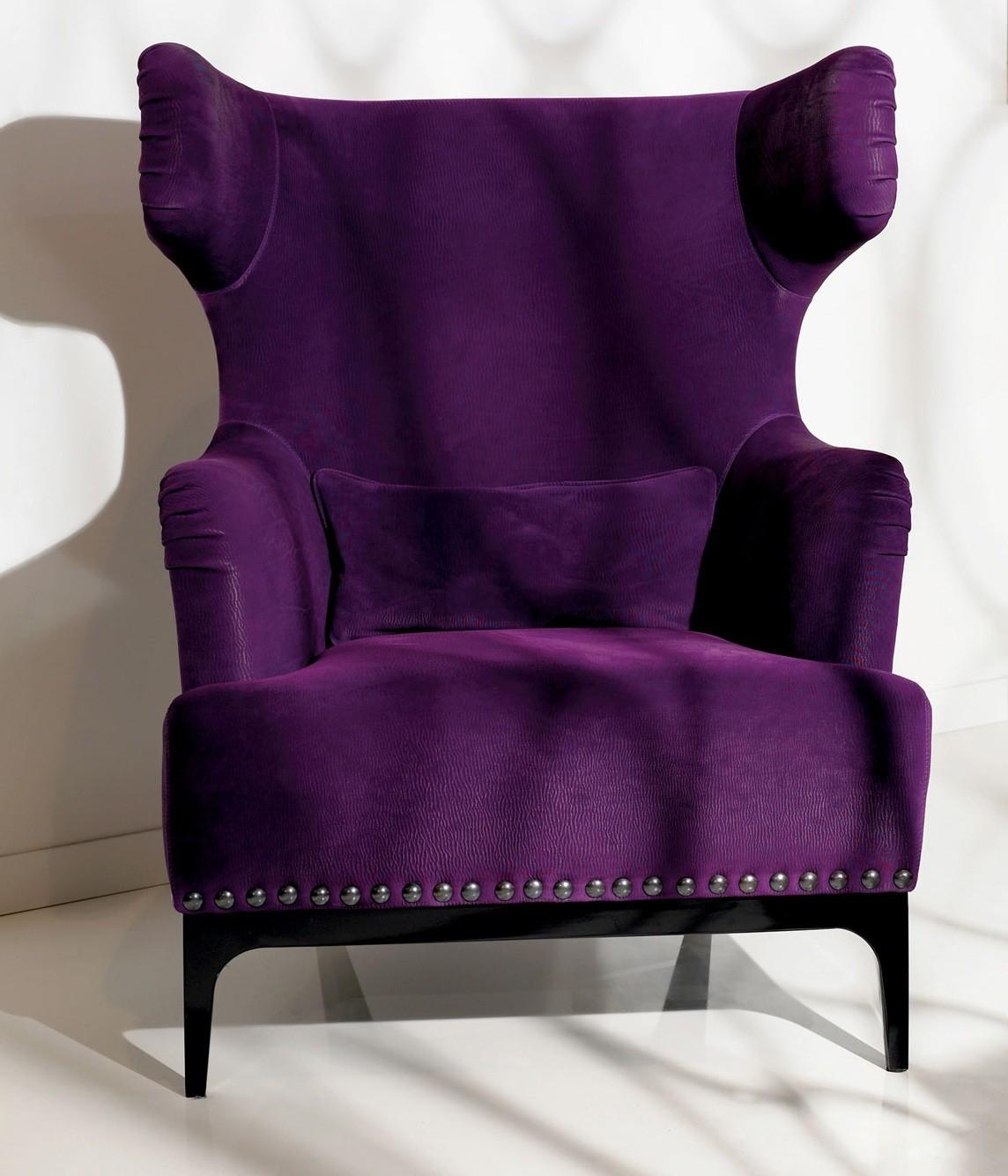 Purple Chairs Bedroom Home Design Ideas Inspiration