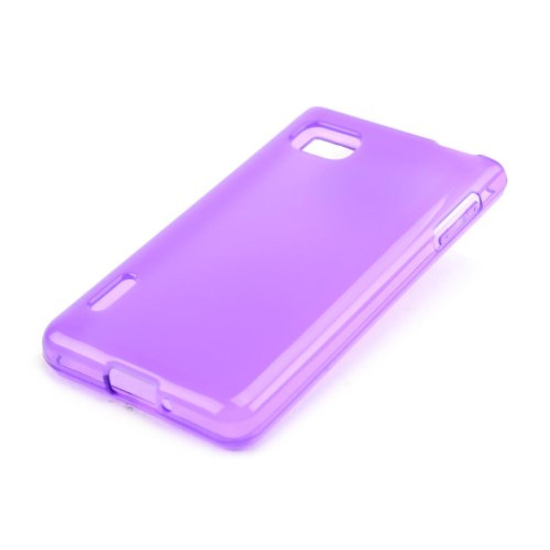 Purple Frost Optimus Tpu Gel Case Cover Anti Slip