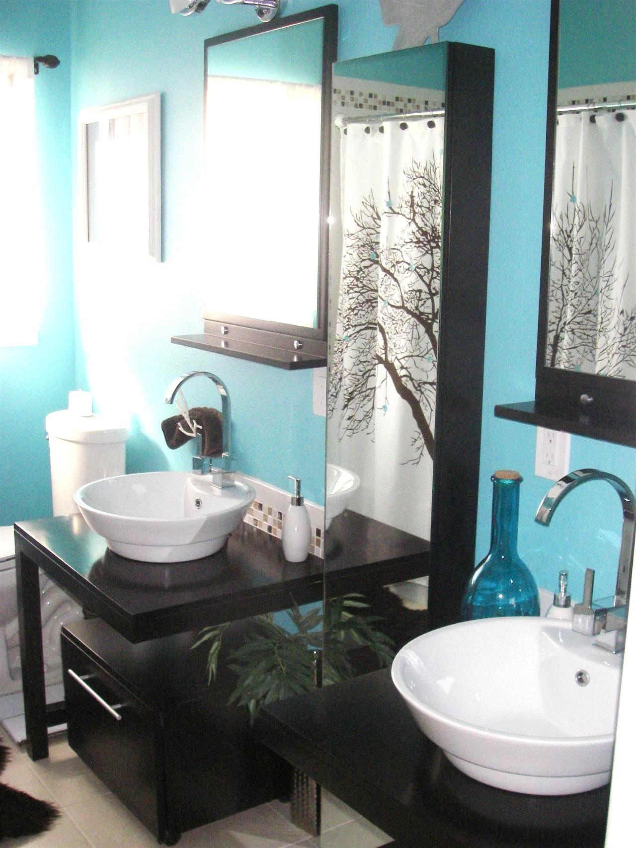 Purple Green Bathroom Ideas