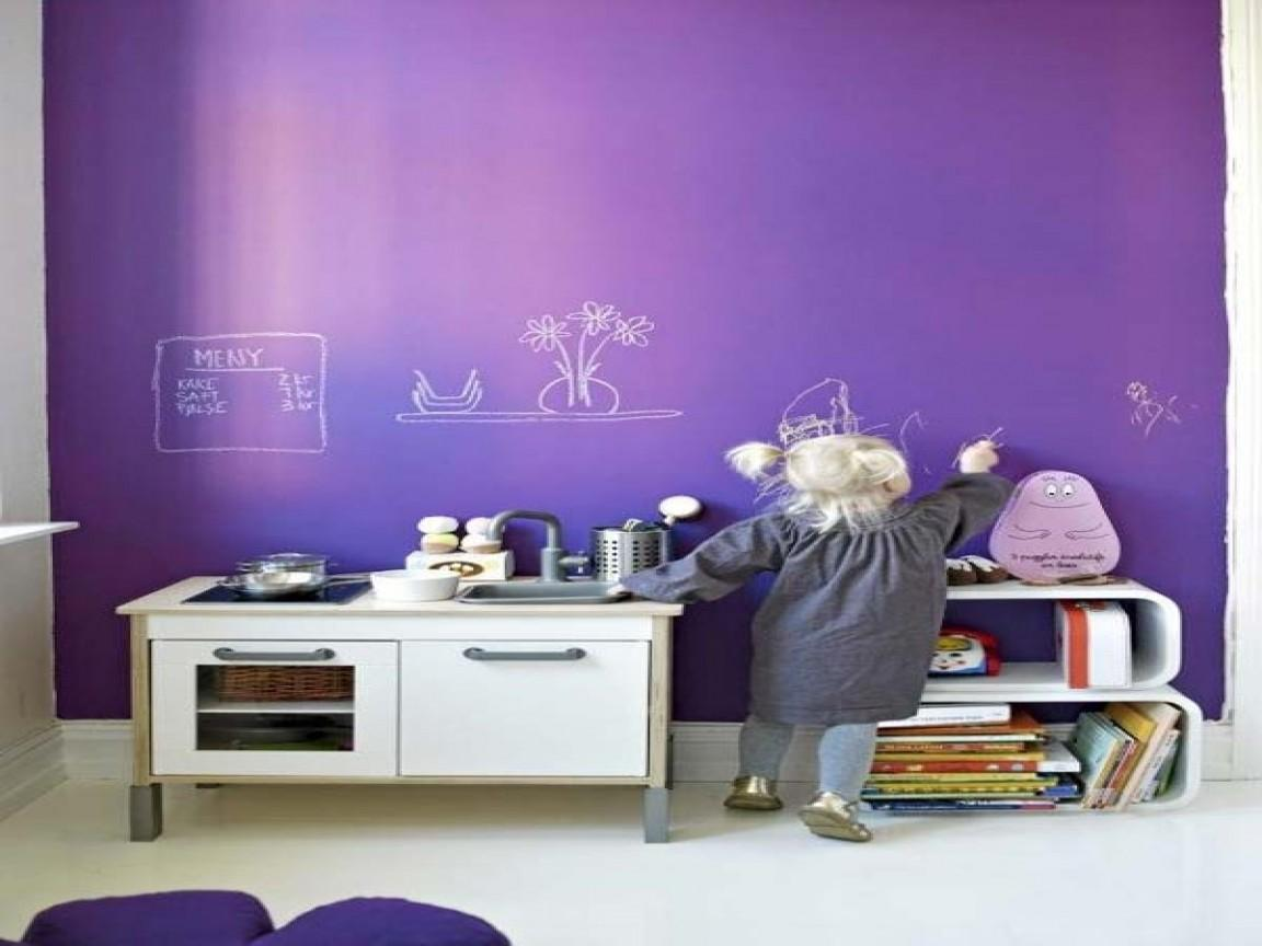 Purple Kids Rooms Exciting Ideas Decorate