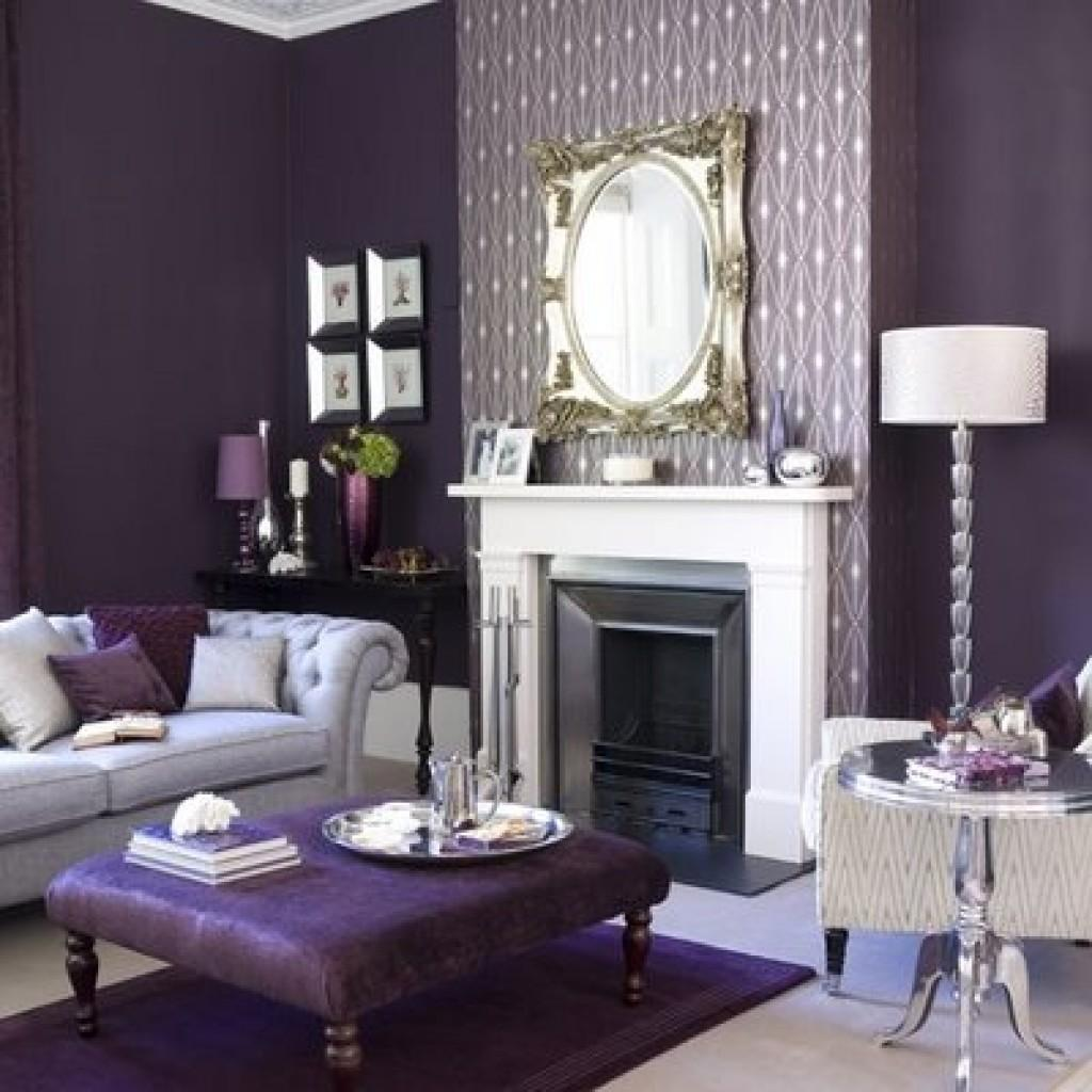 Purple Living Room Ideas Dgmagnets