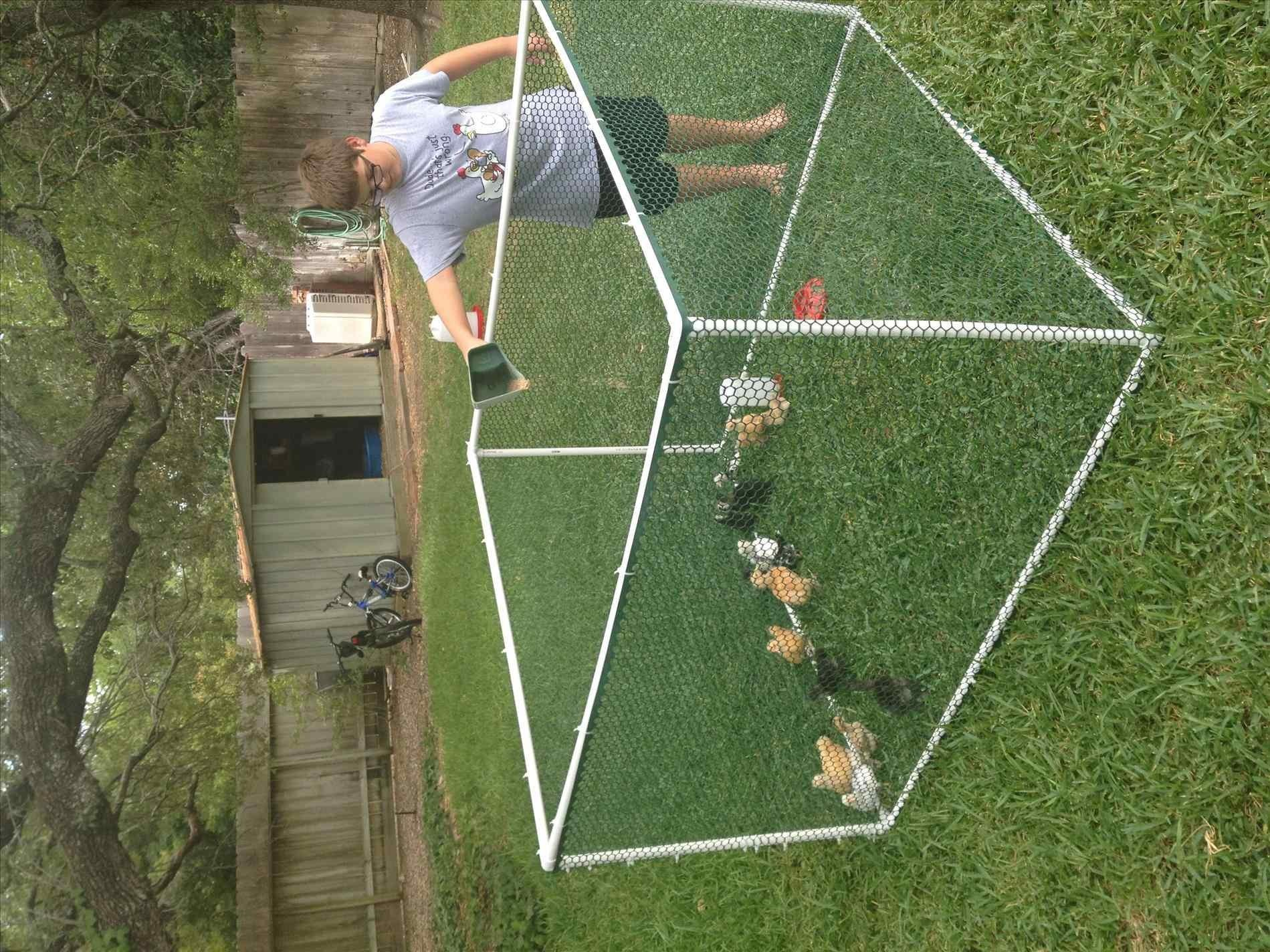 Pvc Pipe Fence Projects Home Gardens Geek
