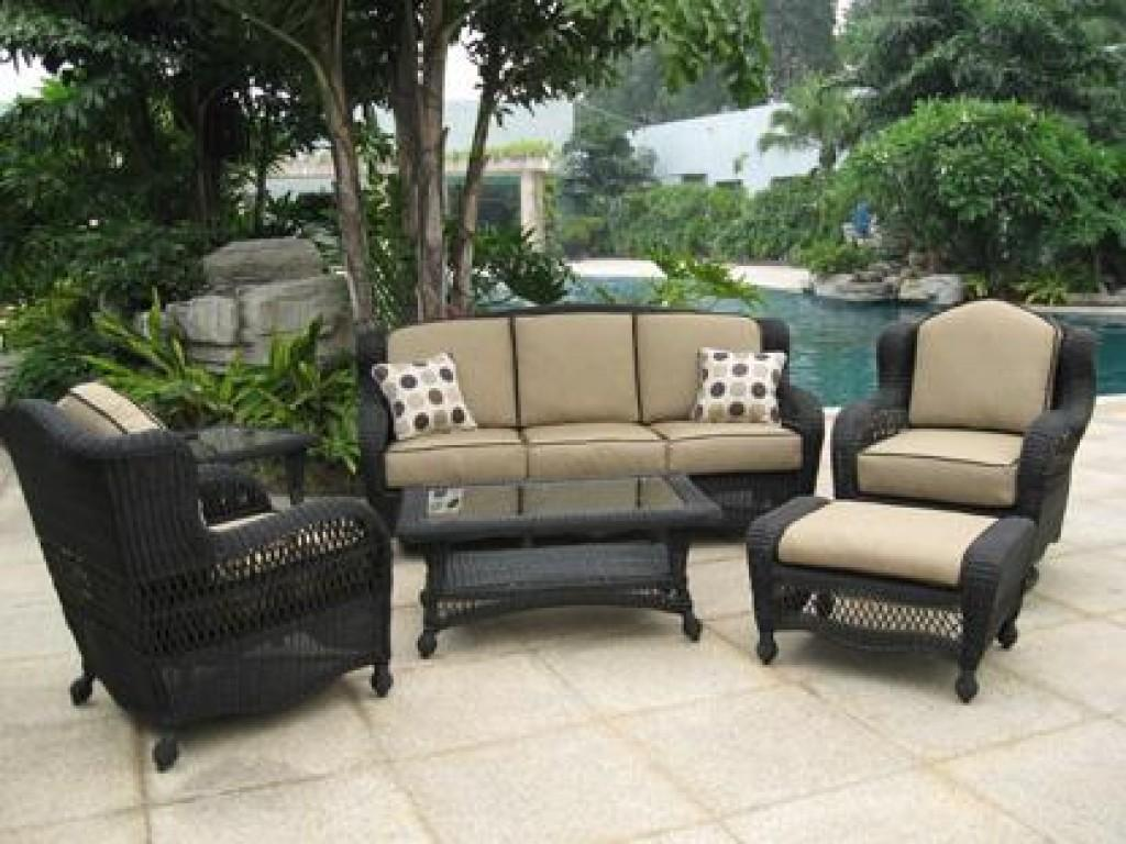 Pvc Wicker Outdoor Furniture Fleur Lis