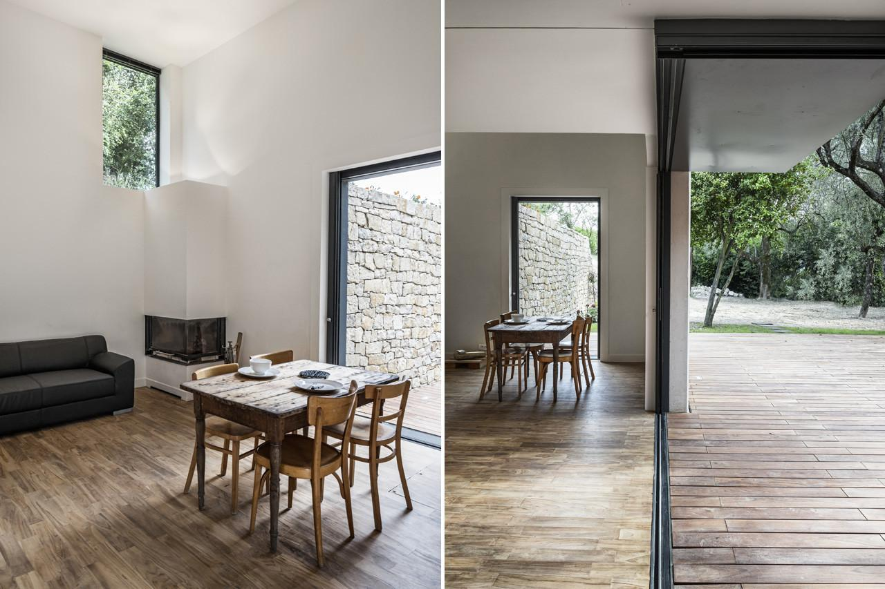Quaint French Riviera Cottage Transformed Into Sleek