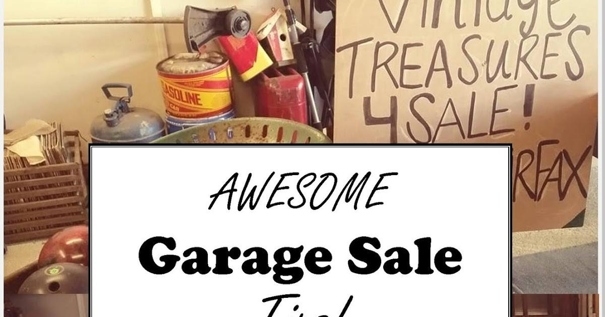 Quaint Sanctuary Simple Profitable Garage Sale